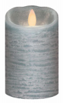 Northern International IGFT88105QB00 LED Flameless Candle, Quarry Blue, 3 x 5-In.