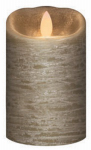 Sterno Home IGFT88105SG00 LED Flameless Candle, Rustic Slate Green, 3 x 5-In.
