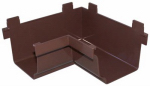 Genova Products AB103AK Gutter Corner, Inside, Brown