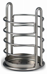 Spectrum Diversified Designs 62278 Utensil Holder, Satin Nickel
