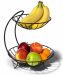 Spectrum Diversified Designs 81310 2-Tier Fruit Server