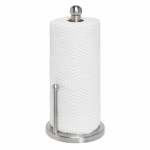 Honey Can Do Intl KCH-01077 Paper Towel Holder, Stainless Steel