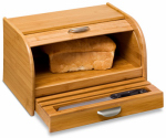 Honey Can Do Intl KCH-01081 Bread Box, Bamboo