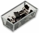 Honey Can Do Intl KCH-02158 Drawer Organizer, Steel Mesh, 6 x 3 x 2-In.