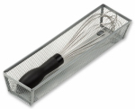 Honey Can Do Intl KCH-02160 Drawer Organizer, Steel Mesh, 12 x 3 x 2-In.