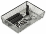 Honey Can Do Intl KCH-02161 Drawer Organizer, Steel Mesh, 9 x 6 x 2-In.