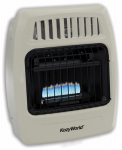 World Mktg Of America/Import KWD154 Vent-Free Wall Heater,  Dual Fuel, 10,000 BTU