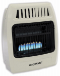 World Mktg Of America/Import KWD258 Vent-Free Gas Wall Heater, Ambient Flame, Dual Fuel, 20,000-BTU