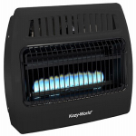 World Mktg Of America/Import KWG362 Vent-Free Gas Wall Heater for Garage / Utility, Blue Flame, Dual Fuel, 30,000 BTU