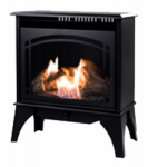 World Mktg Of America/Import GSD2210 Gas Stove, Vent-Free, Dual Fuel, Black, 20,000-BTU