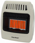 World Mktg Of America/Import KWN391 Infrared Vent-Free Wall Heater, Natural Gas, 3 Plaques, 18,000 BTU