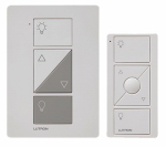 Lutron Electronics P-PKG1P-WH Caseta Wireless Plug-In Lamp Dimmer With Pico Remote Control, 100-Watt, White
