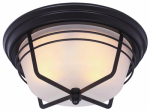 Westinghouse Lighting 6230348 2-Light Ceiling Fixture, Flush-Mount, Weathered Bronze