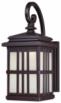 Westinghouse Lighting 64002 LED Wall Lantern, Outdoor, Oil-Rubbed Bronze, 9-Watt