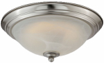 Westinghouse Lighting 64005 LED Ceiling Light Fixture, Flush-Mount, Brushed Nickel, 13-Watt