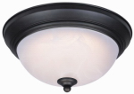 Westinghouse Lighting 64006 LED Ceiling Light Fixture, Flush-Mount, Oil-Rubbed Bronze, 13-Watt