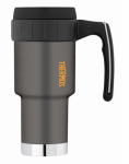 Thermos 3910GMTRI4 Work Series Travel Mug,  Gun Metal Gray Stainless Steel, 20-oz.