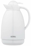 Thermos 710TRI4 Insulated Carafe, White, 34-oz.