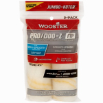 Wooster Brush RR371-4 1/2 Paint Roller Cover, Jumbo-Koter Pro/Doo-Z FTP, 2-Pack, 3/8-In.