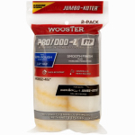 Wooster Brush RR372-4 1/2 Paint Roller Cover, Jumbo-Koter Pro/Doo-Z FTP, 2-Pack, .5-In.
