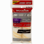 Wooster Brush RR373-4 1/2 Paint Roller Cover, Jumbo-Koter Pro/Doo-Z FTP, 2-Pack, 3/16-In.