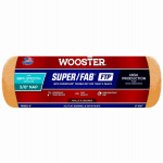 Wooster Brush RR923-9 Paint Roller Cover, Super Fab, Shed Resistant, 9-In. x 3/8-In.