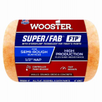 Wooster Brush RR924-4 Paint Roller Cover, Super Fab, Shed Resistant, 4-In. x .5-In.
