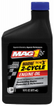 Warren Distribution MG061016 Marine Engine Oil, 2-Cycle, 16-oz.
