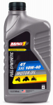 Warren Distribution MG4T14PL ATV Synthetic Engine Oil, 10W40, 1-Qt.