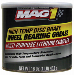 Warren Distribution MG620012 Disc Brake Wheel Bearing Grease, High-Temp Formula, 1-Lb.