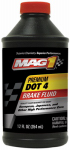 Warren Distribution MGBF0126 Dot 4 Premium Brake Fluid, 12-oz.