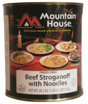 Big Rock Sports 30119 Freeze-Dried Beef Stroganoff, 2-Lb.
