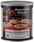 Big Rock Sports 30124 Freeze-Dried Chicken Teriyaki, 2-Lb.