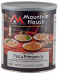 Big Rock Sports 30137 Freeze-Dried Pasta Primavera, 2.1-Lb.