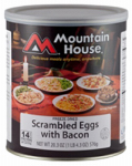 Big Rock Sports 30447 Freeze-Dried Scrambled Eggs With Bacon, 2-Lb.