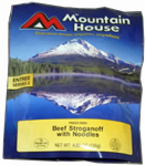 Big Rock Sports 53119 Freeze-Dried Beef Stroganoff, 4.8-oz.
