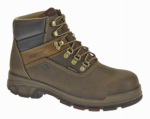 Wolverine Worldwide W10315 07.5EW Cabor Waterproof Work Boots, Extra Wide, Brown Nubuck Leather, Men's Size 7.5