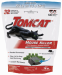 Scotts-Tomcat BL23432 Tomcat Tier 3 Refillable Mouse Bait Station - 1 station + 32 - 0.5 oz bait refills.