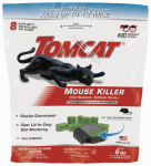 Scotts-Tomcat 0371310 Tomcat Tier 3 Refillable Mouse Bait Station - 1 station + 8 - 1oz bait refills