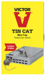 Woodstream M310S Tin Cat Live Catch Mouse Trap, Holds Up To 30 Mice