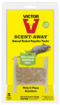Woodstream M805 Scent Away Rodent Repellant, Lasts 30 Days, 5-Pk.