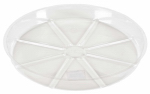 Midwest Air Technologies VS12VUS Plant Saucer, Clear, 12-In.