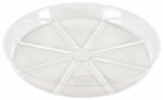 "Midwest Air Technologies VS8VUS 8"" CLR or Clear or Cleaner Plant Saucer"