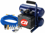 Campbell Hausfeld FP199599DI Air Compressor, Oil-Free, 2-Gal.