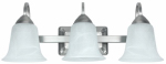 Feit Electric 73802 LED Vanity Light Fixture, 3-Light, Brushed Nickel, 26-Watt