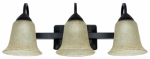Feit Electric 73804 LED Vanity Light Fixture, 3-Light, Oil-Rubbed Bronze, 26-Watt