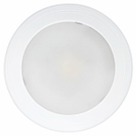 Feit Electric 73994 LED Mini Ceiling Light Fixture, Flush Mount, Round, White, 14-Watt, 7-1/2-In.