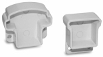 Gilpin Ironworks 629065W Railing Bracket, White Aluminum