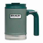 Pmi Worldwide 10-01693-001 Thermal Travel Mug, Green Stainless Steel, 16-oz.