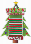 Dm Merchandising YT-24EB Holiday Hair Bands, 24-Ct.